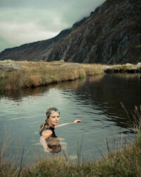 Vivienne Rickman-Poole photographed in Snowdonia for the Guardian Labs. Selected for British Journal of Photography's Portrait of Britain 2017