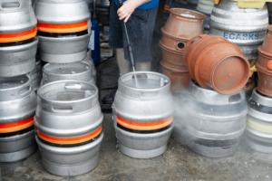 Richard Muirhead at the Muirhead brewery in Ilkeston, U.K.